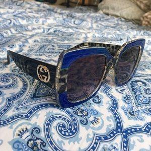 Gucci Large Frame Acetate sunglasses